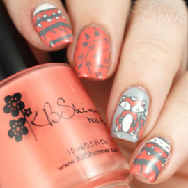 UberChic Beauty - Nail Art Stamping Plates – Collection 18