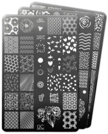 UberChic Beauty - Nail Art Stamping Plates – Collection 19