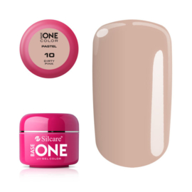 Base One - UV COLOR GEL - Pastel - 10. Dirty Pink