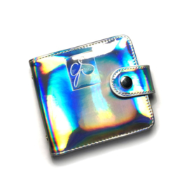 Clear Jelly Stamper - Snap - Medium  Holo Plate Holder - Holo Silver - (8x8)