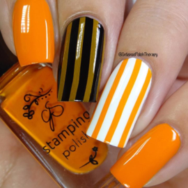 Clear Jelly Stamper Polish - #22 Clementine