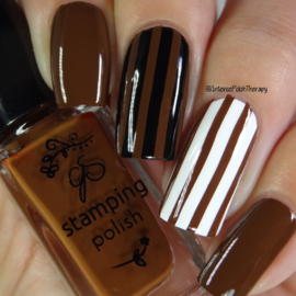 Clear Jelly Stamper Polish - #31 You Had Me at Chocolate