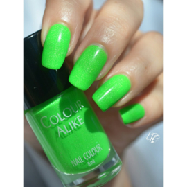 Colour Alike -  Nail Polish - Neon goes Holo - 612. Lime on Time
