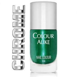 Colour Alike - Stamping Polish - Chrome - 122. Absolute Green
