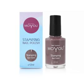 Moyou Nail Fashion - Stamping Polish - 28. Grey Skies