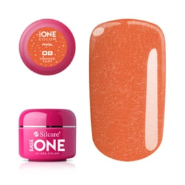 Base One - UV COLOR GEL - Pixel - 08. Orange Fury