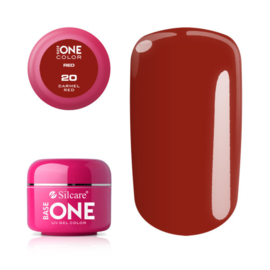 Base One - UV RED GEL - 20. Carmel Red