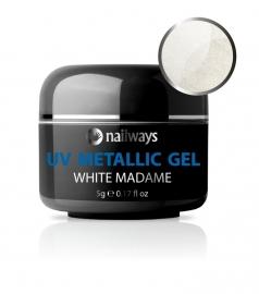 UV METALLIC GEL - White Madame