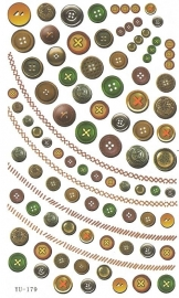 Waterdecals - Buttons