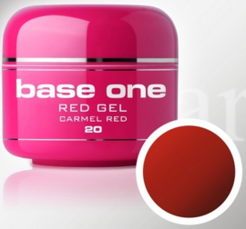 Base One - UV RED GEL - 20. Carmel Red