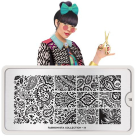 MoYou London - Stamping Plate - Fashionista 18