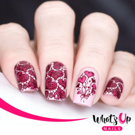 Whats Up Nails - Stamping Plate - B024 Love Is Everywhere