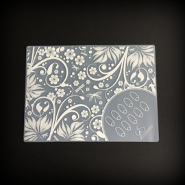 Clear Jelly Stamper - Nail Art Mat - 1. The Lesley