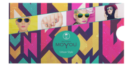 Moyou Nail Fashion - XL Stamping Plate - Urban Collection - 3