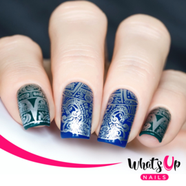 Whats Up Nails - Stamping Plate - A007 Aztec Countdown