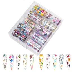 Nailways - Transfer Nail Foil - Collection 12