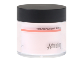 Astonishing - Acrylic Powders - Transparent Pink (25 gr)