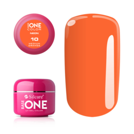 Base One - UV COLOR GEL - Neon - 10. Medium Orange