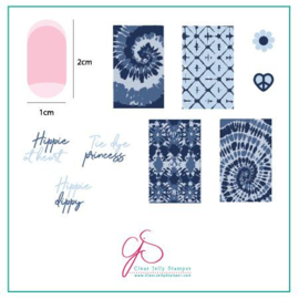 Clear Jelly Stamper - Stamping Plate - CJS_116 Lil' Boho Life