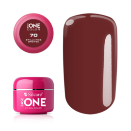 Base One - UV COLOR GEL - 70. Brilliance Bronze
