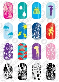 Nailways - Stamping Plate - Snowwhite - 01. Weather Forecast