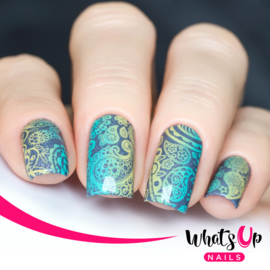 Whats Up Nails - Stamping Plate - A003 Paisley Buffet