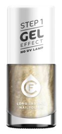 CF Gel Effekt Nagellak - Step 1 - 600. Silver Grey Mother-of-Pearl