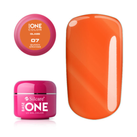 Base One - UV COLOR GEL - 07. Queen Orange - Transparent