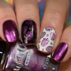 Whats Up Nails - Stamping polish - WSP015 - Looking for a Star