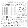 Clear Jelly Stamper - Medium Stamping Plate - CJS_114 Crafty Life