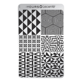 Yours Cosmetics - Stamping Plates - :YOURS Loves Lecenté - YLL03. Angular Six