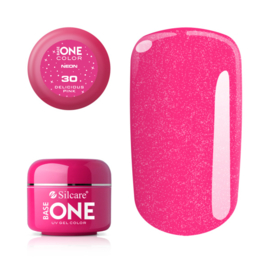 Base One - UV COLOR GEL - Neon - 30. Sweet Magenta