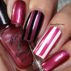 Clear Jelly Stamper Polish - #55 Pomegranate Pop