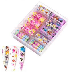 Nailways - Transfer Nail Foil - Collection 13