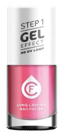 CF Gel Effekt Nagellak - Step 1 - 224. Power Pink
