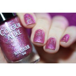 Colour Alike -  Nail Polish - Happy - 631. Enjoy It (Ultra Holographic)