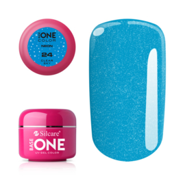 Base One - UV COLOR GEL - Neon - 24. Clear Sky