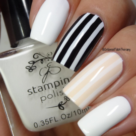 Clear Jelly Stamper Polish - #2 Jenny's Gonna Love it!!