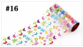 Exclusieve Foil #16 - Rainbow Butterfly Parade