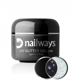Nailways - NWUVGL02 - UV GLITTER GEL - Lyre