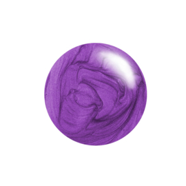 Clear Jelly Stamper Polish - #30 Plum Crazy