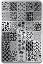 Lina - Stamping Plate - 4 Seasons - Spring 02