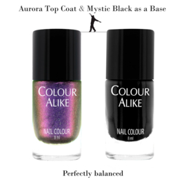 Colour Alike - Nail Polish - Topcoat - 725. Aurora
