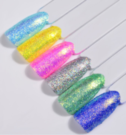 Nailways - Holografisch Shiny Color Nagel Poeder Set