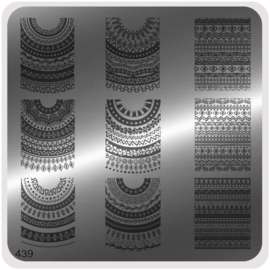 Moyou Nail Fashion - Stamping Plate - Ethnic Style - 439