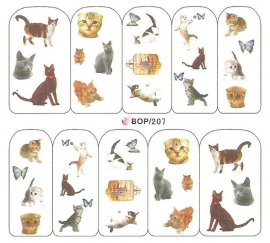 Waterdecals - Cats