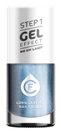 CF Gel Effekt Nagellak - Step 1 - 410. Dark Blue Sky