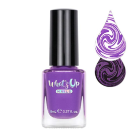 Whats Up Nails - Stamping polish - WSP030. First Violet