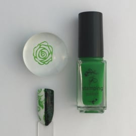Clear Jelly Stamper Polish - #11 Dolla Dolla Bill