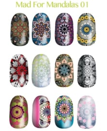 Lina - Stamping Plate - Mad for Mandalas - 01